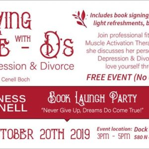 Book Launch Party - Sunday, October 20, 2019